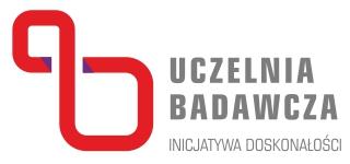 Logo Uczelnia Badawcza Inicjatywa Doskonałości (IDUB)
